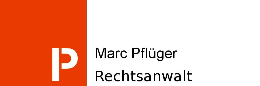 Rechtsanwalt Marc Pflüger Fachanwalt für Bank-/ Kapitalmarktrecht